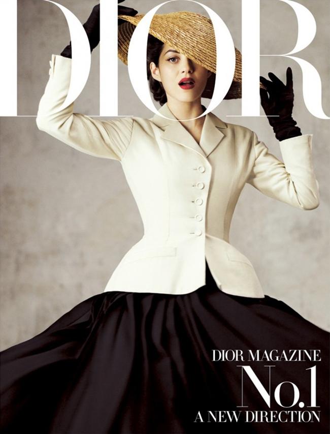Марион Котийяр обложка  Dior Magazine