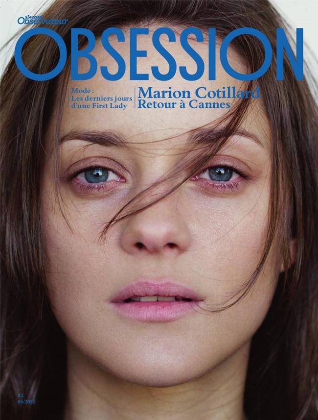 Марион Котийяр обложка  Obsession