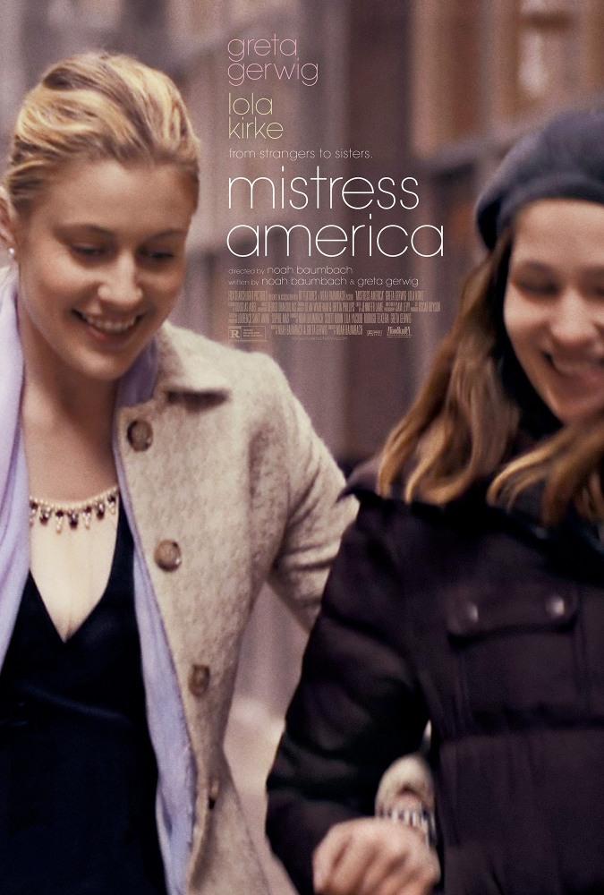 Госпожа Америка, постер