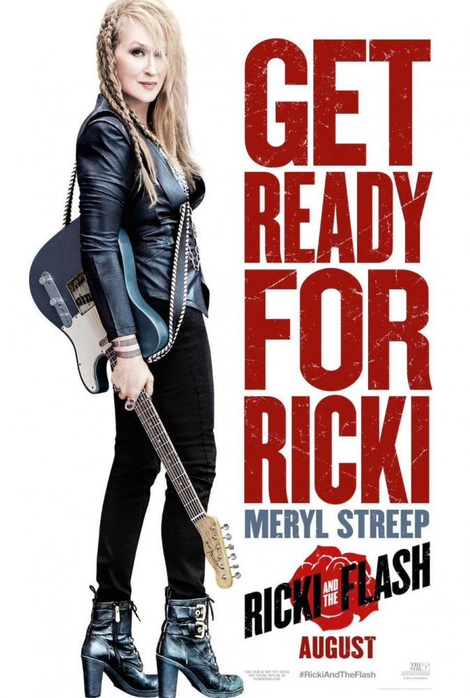 «Рикки и Вспышка»: трейлер и постер комедии с Мэрил Стрип
