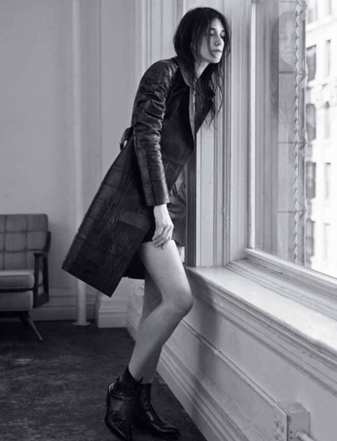 фотосессия Шарлотты Генсбур в Marie Claire France  (4)