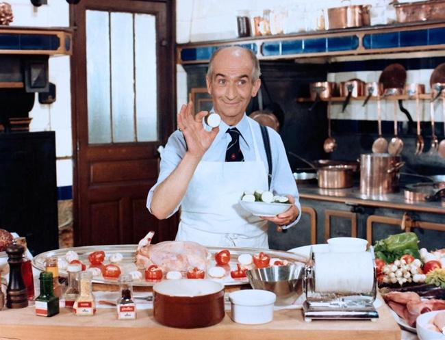 Лучшие фильмы с Луи де Фюнесом: «Крылышко или ножка», 1976
