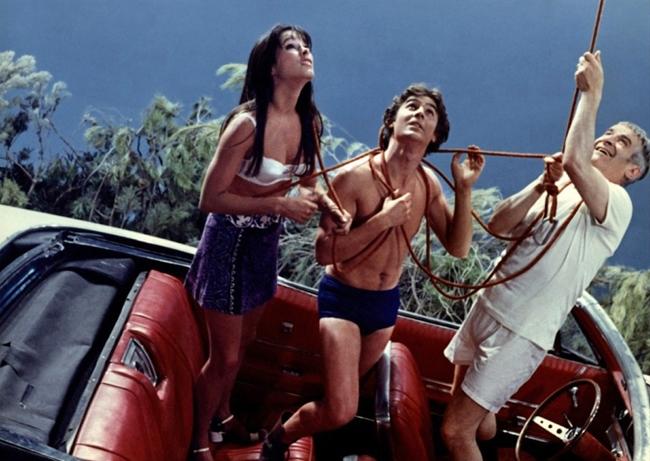 Лучшие фильмы с Луи де Фюнесом: «На древо взгромоздясь», 1971
