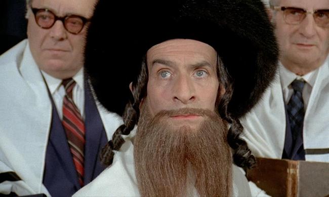 Лучшие фильмы с Луи де Фюнесом: «Приключения раввина Якова», 1973