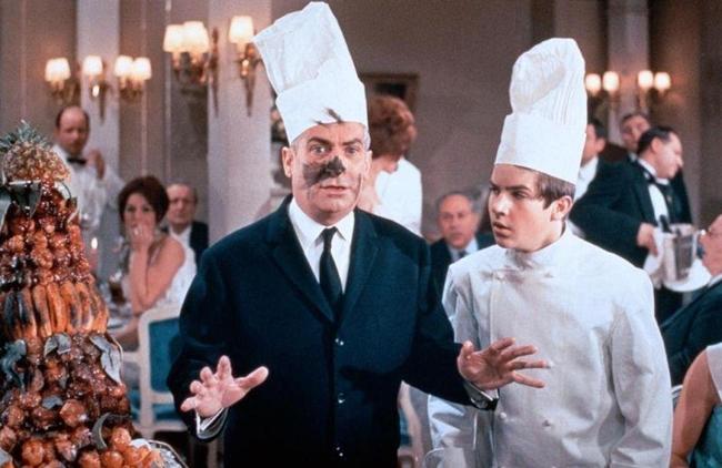 Лучшие фильмы с Луи де Фюнесом: «Ресторан господина Септима», 1966