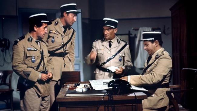 Лучшие фильмы с Луи де Фюнесом: «Жандарм из Сен-Тропе», 1964