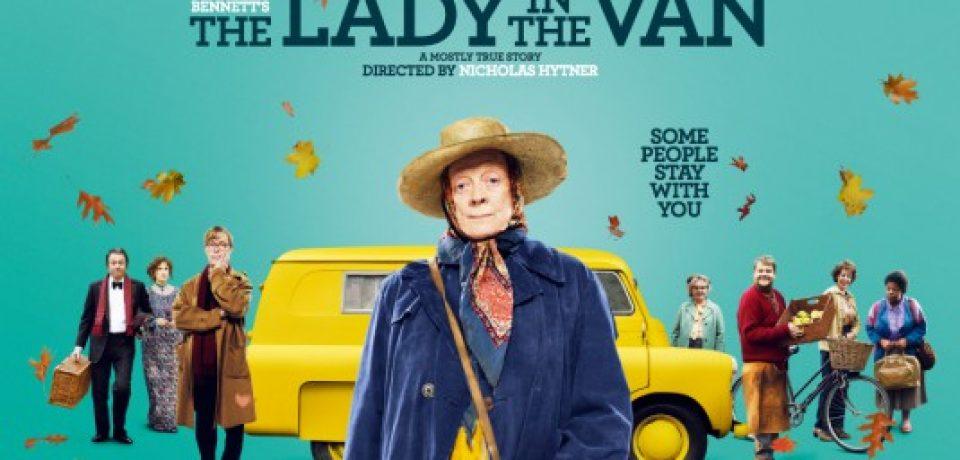 «Леди в фургоне» — новая британская комедия с Мэгги Смит