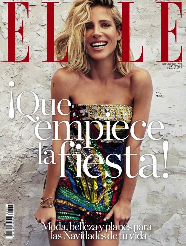 Эльза патаки Elle Spain 2015 (1)