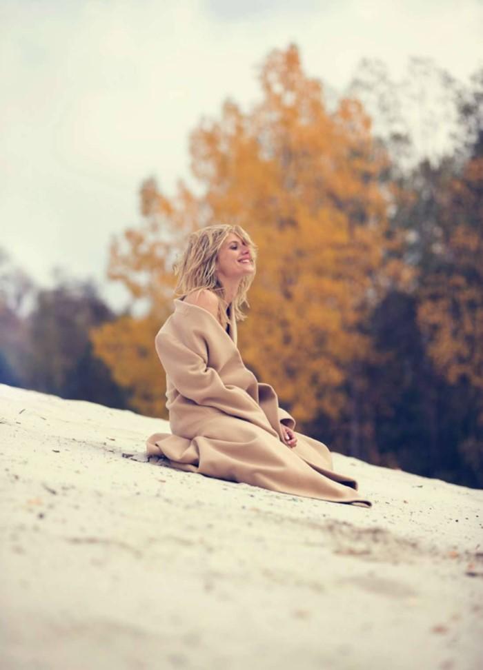 Фотосессия мелани Лоран Elle France (10)