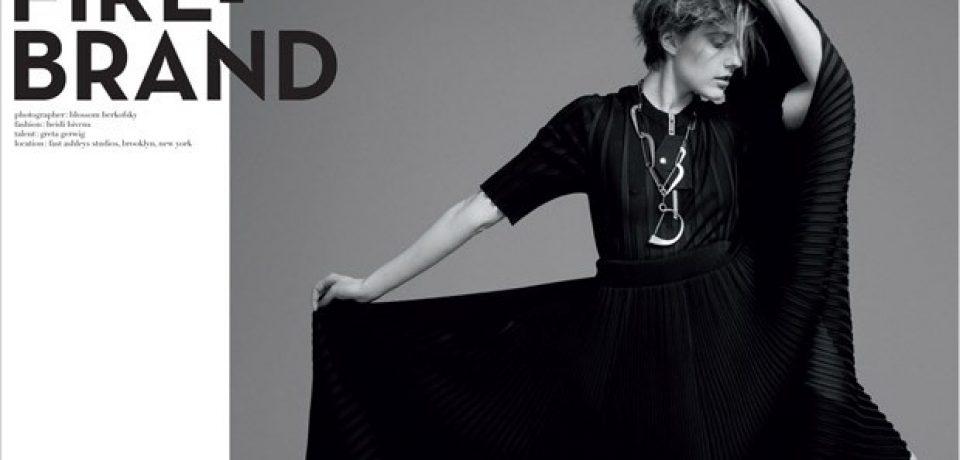 Грета Гервиг в фотосессии Crash Magazine