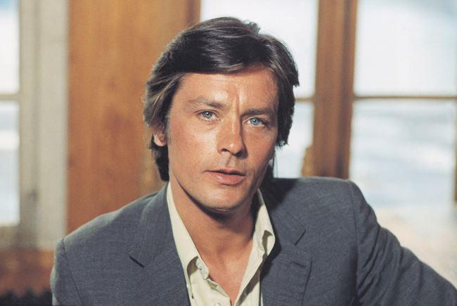 Французские актеры мужчины список: Ален Делон