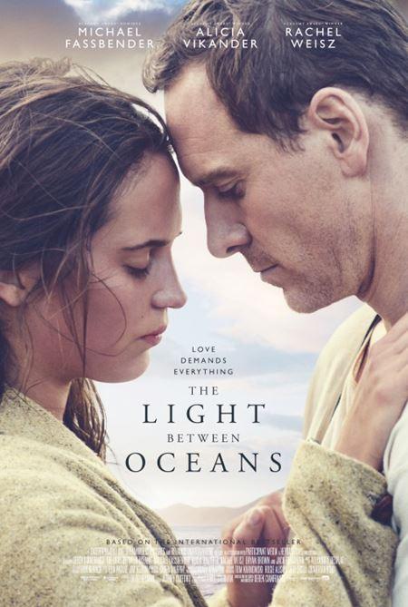 Свет в океане, постер