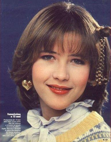 Софи Марсо в молодости фото 10