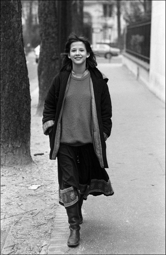 Софи Марсо в молодости фото 26
