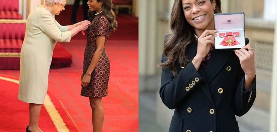 Наоми Харрис вручили Орден Британской Империи OBE