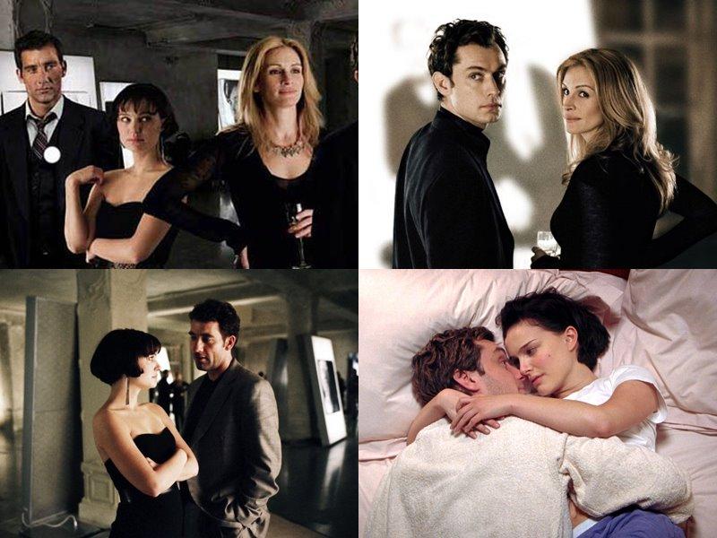 Фильмы про измену: «Близость» (Closer), 2004