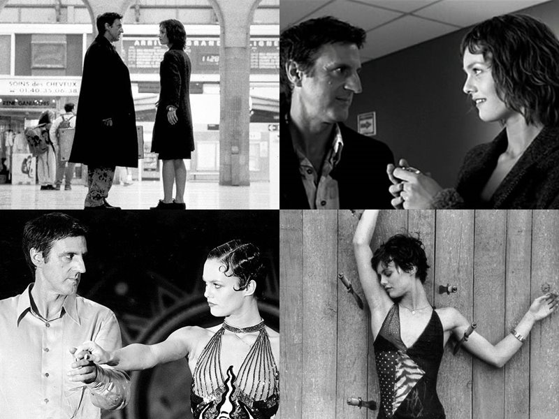 Стильные современные чёрно-белые фильмы: «Девушка на мосту» (La fille sur le pont), 1999