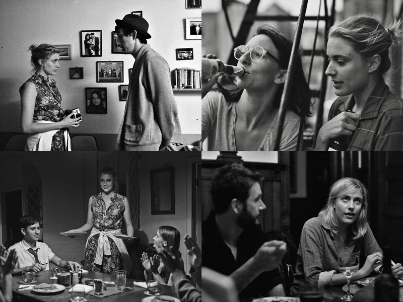 Стильные современные чёрно-белые фильмы: «Милая Фрэнсис» (Frances Ha), 2012