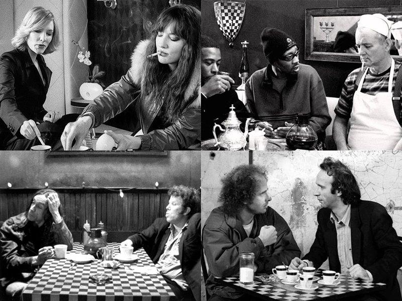 Стильные современные чёрно-белые фильмы: «Кофе и сигареты» (Coffee and Cigarettes), 2003