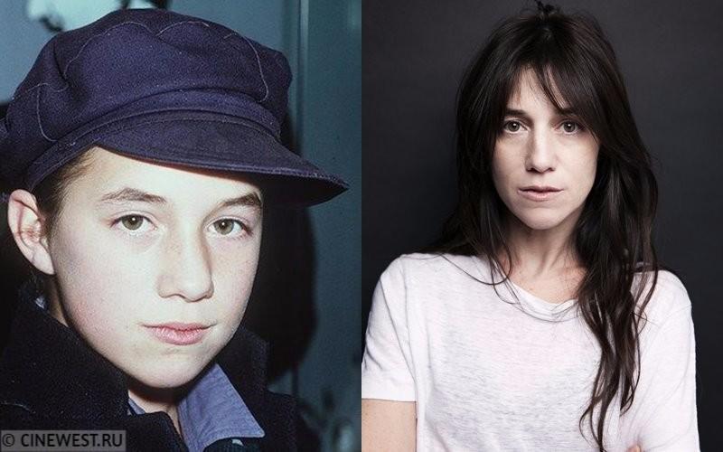 Некрасивые женщины-актрисы - Шарлотта Генсбур - в детстве и сейчас