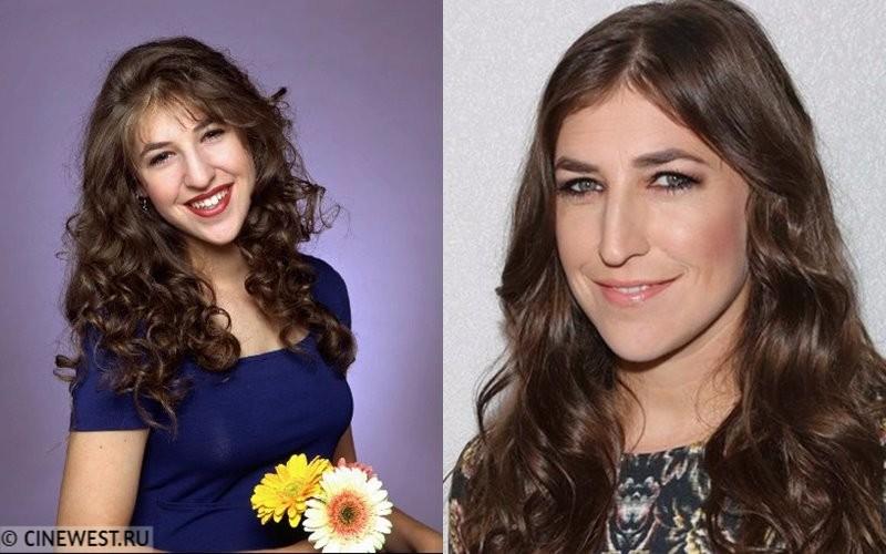 Некрасивые женщины-актрисы - Маим Бялик - в юности и сейчас