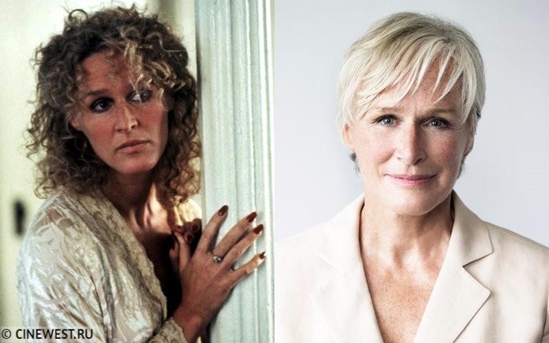 Некрасивые женщины-актрисы - Гленн Клоуз - в молодости и сейчас