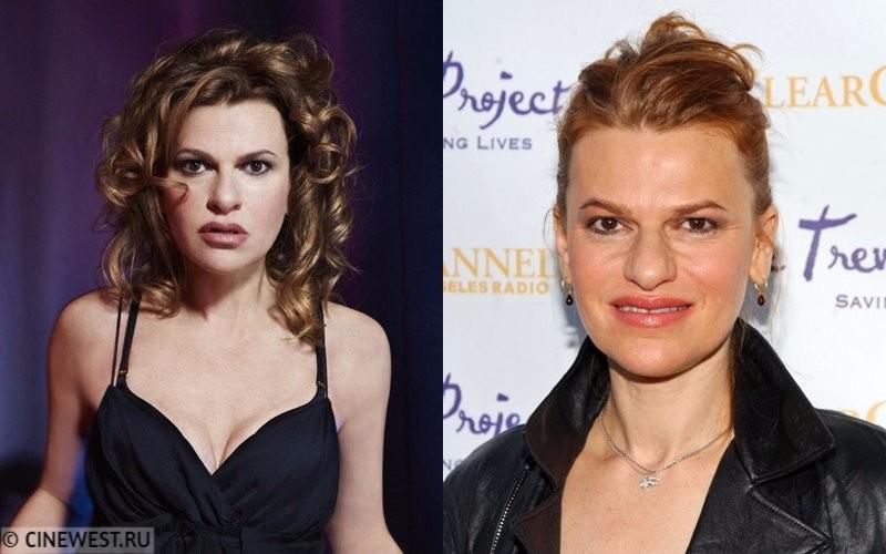Некрасивые женщины-актрисы - Сандра Бернхард - в молодости и сейчас