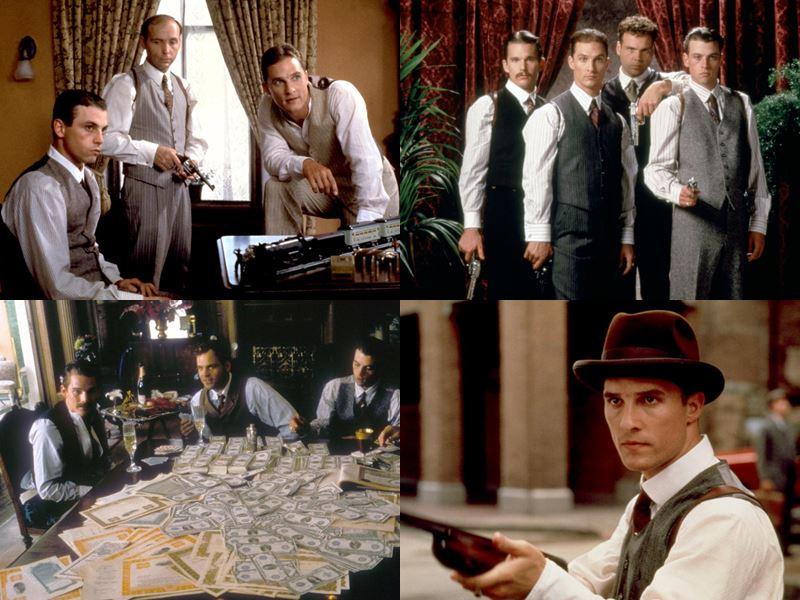Фильмы про братьев - «Братья Ньютон», The Newton Boys  США, 1998