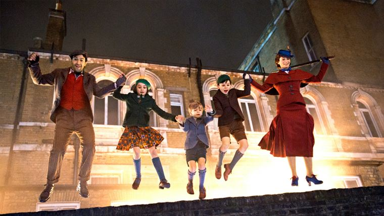 Кинопремьеры 2018: фильмы и даты выхода - «Мэри Поппинс возвращается» (Mary Poppins Returns)