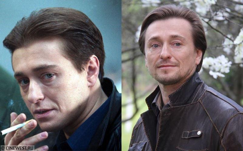 Актёры сериала «Бригада» тогда и сейчас - Сергей Безруков (Александр Белов/Саша Белый)