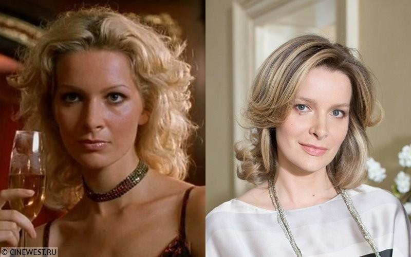 Актёры сериала «Бригада» тогда и сейчас - Александра Флоринская-Буданова (Аня, любовница Саши Белого)