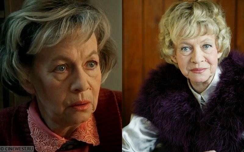 Актёры сериала «Бригада» тогда и сейчас - Александра Назарова (бабушка Ольги)