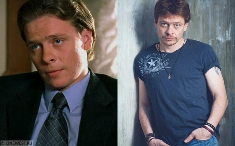 Актёры сериала «Бригада» тогда и сейчас - Павел Майков (Виктор Пчёлкин/Пчёла)