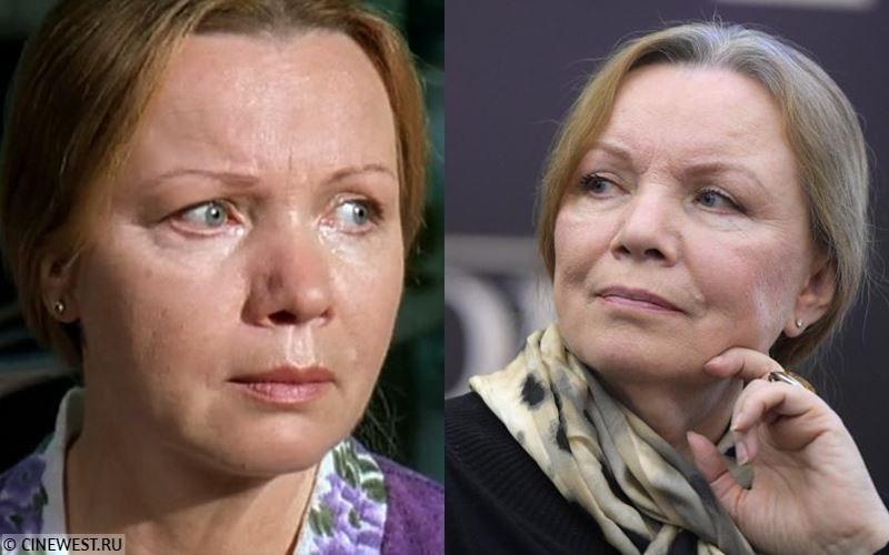 Актёры сериала «Бригада» тогда и сейчас - Валентина Теличкина (Татьяна Белова, мать Саши Белого)
