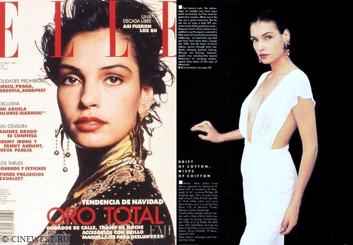 Актрисы, которые работали моделями - Фамке Янссен