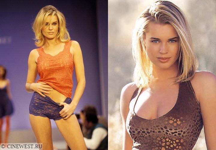 Актрисы, которые работали моделями - Ребекка Ромейн