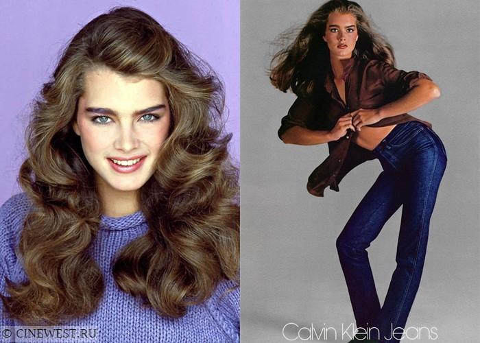 Актрисы, которые работали моделями - Брук Шилдс