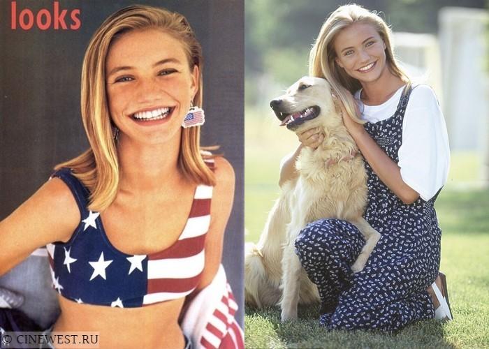Актрисы, которые работали моделями - Кэмерон Диас