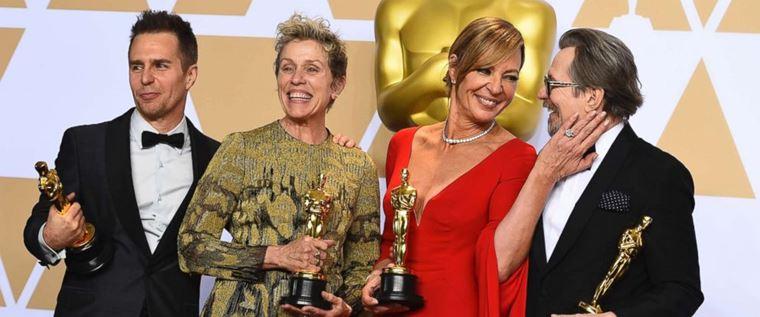 Актёры-победители премии «Оскар»-2018