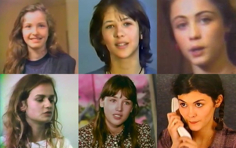 Первые кастинги французских актрис (видео)