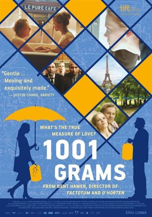 Фильмы фестиваля Финляндии и Норвегии Nordic Way-2018 - «1001 грамм» (1001 gram)
