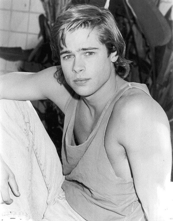 Молодой Брэд Питт - редкие чёрно-белые снимки 1987 года - фото 2