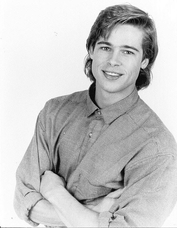 Молодой Брэд Питт - редкие чёрно-белые снимки 1987 года - фото 13