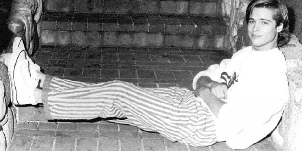 Юность кумира: 23-летний Брэд Питт на уникальных архивных фото 1987 года