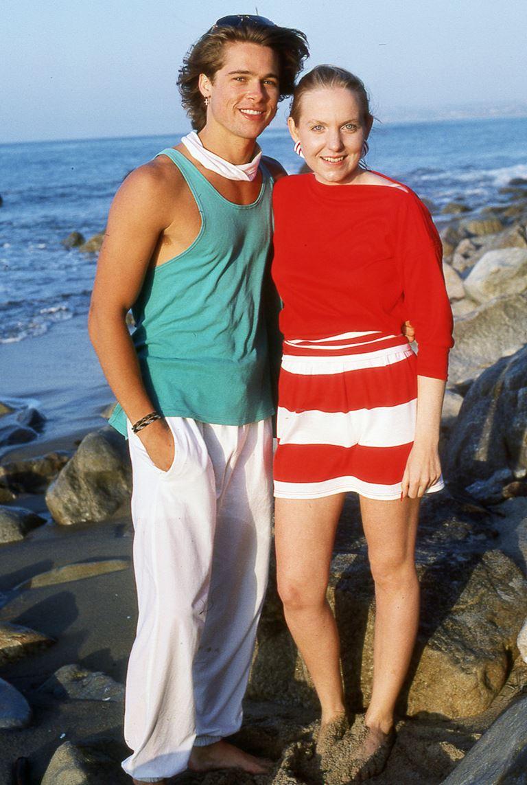 Молодой Брэд Питт - редкие чёрно-белые снимки 1987 года - фото 1