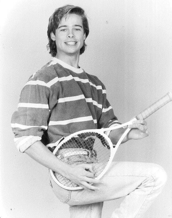 Молодой Брэд Питт - редкие чёрно-белые снимки 1987 года - фото 10