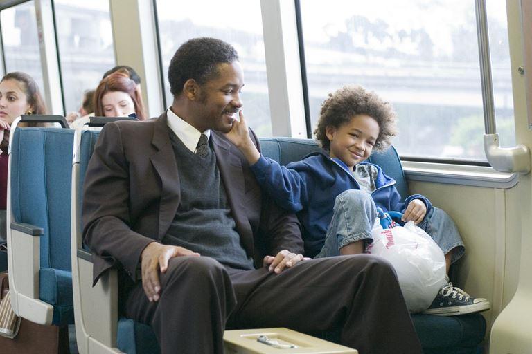 5 фильмов об отцах-одиночках - «В погоне за счастьем» (2006)