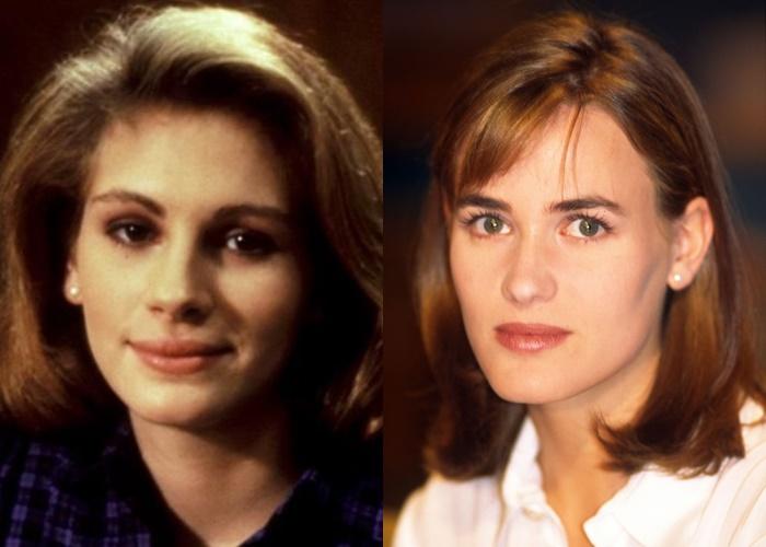 Актрисы, которых часто путают - Джулия Робертс и Жюдит Годреш
