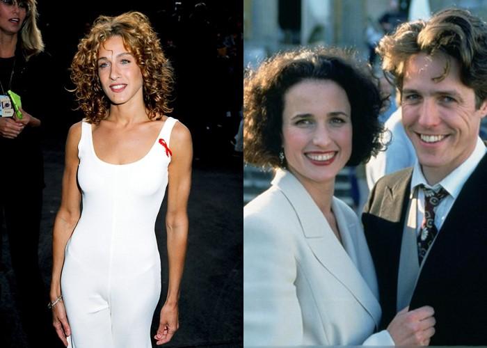 Несыгранные роли: 8 фильмов, в которых могла сняться Сара Джессика Паркер - «Четыре свадьбы и одни похороны» (1993)