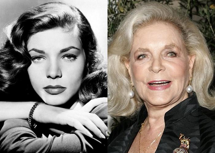 10 легендарных актрис Голливуда в молодости и старости - Лорен Бэколл